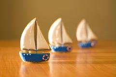 Пряник в форме корабля Стоковые Фото