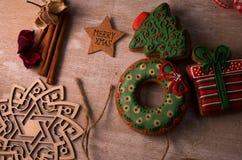 Пряник рождества стоковая фотография