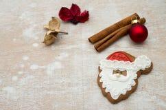 Пряник рождества стоковое изображение
