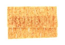 Пряное помятое кальмаром Стоковые Изображения RF
