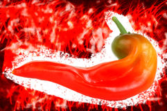 пряное grunge горячее Стоковое Изображение RF