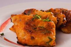 Пряные рыбы Tikka от Индии Стоковое фото RF