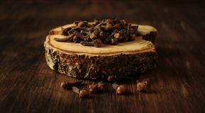 Пряные семена гвоздичного дерева Стоковые Изображения