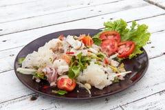 Пряные смешанные морепродукты 01 стоковые фото