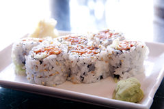 Пряные суши крена тунца Стоковые Изображения RF