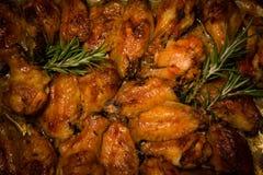 Пряный испеченный цыпленок Стоковое Фото