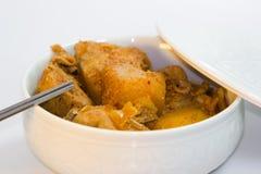 Пряный корейский цыпленок Стоковое Изображение RF