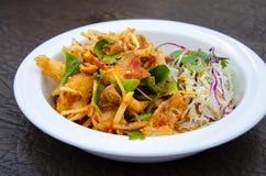 Пряный салат с кудрявым Стоковые Изображения
