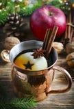 Пряный чай яблока стоковое фото rf