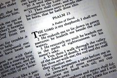 псалем 23 Стоковое Изображение