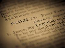 ПСАЛОМ 23: Старый гимн от страницы Hymnal стоковое изображение rf