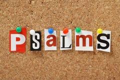 Псалмы стоковые фотографии rf