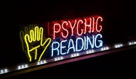 Психический рассказчик удачи чтения стоковое изображение