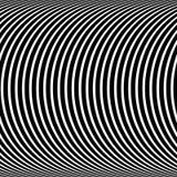 Психоделическая картина, оптически черно-белая иллюзия бесплатная иллюстрация