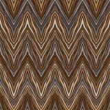 Психоделическая линейная картина зигзага Стоковая Фотография