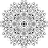 Психоделическая мандала гриба Стоковая Фотография RF
