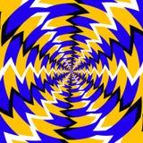 Психоделическая оптически закрутка Стоковое фото RF