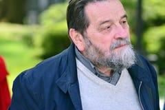Психолог блеска Konstanty Gebert еврейского начала, переводчик, журналист и академичный учитель, с 1989 публицист  стоковая фотография rf