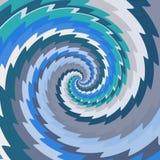Психопат текстура произведенная цветочным узором Стоковая Фотография