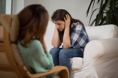 Психотерапевтическая встреча Стоковая Фотография RF