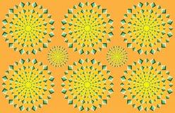 Психоделическая иллюзия иллюстрация вектора