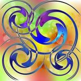 Психоделические пестротканые пузыри бесплатная иллюстрация
