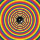Психоделический звук с диктором Стоковое Изображение RF