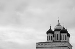 Псков Кремль с православными церков церков Стоковые Фото