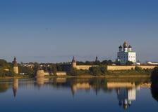 Псков Кремль Стоковая Фотография RF