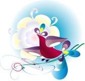 пташка декоративная Стоковые Изображения