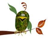 птица в стиле фанк Стоковые Фотографии RF
