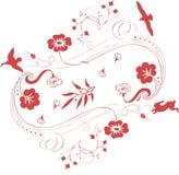 птица декоративная Стоковое Изображение RF