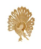 птица деревянная Стоковые Фото