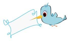 Птица и рамка Стоковые Изображения RF