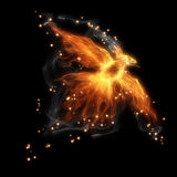 Птица огня Стоковое Изображение