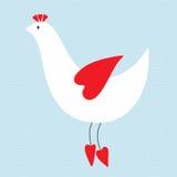 птица симпатичная Иллюстрация вектора