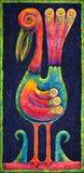 Птица с цветастыми пер Стоковая Фотография RF