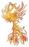 Птица Феникса Стоковые Фото