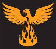 Птица Феникса Стоковые Изображения RF