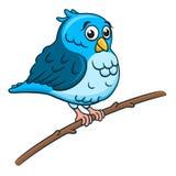 Птица шаржа Стоковое Изображение