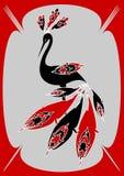 птица экзотическая Стоковое Фото