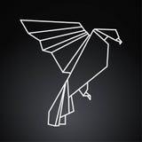 Птица Origami Стоковая Фотография