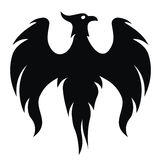 птица phoenix Стоковое фото RF