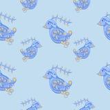 птицы делают по образцу безшовное бесплатная иллюстрация