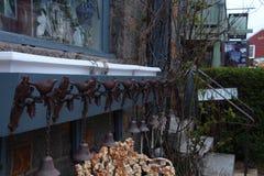 Птицы и колоколы Стоковое Фото
