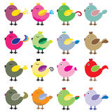 птицы милые Стоковая Фотография
