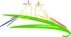 птицы тропические Стоковые Изображения
