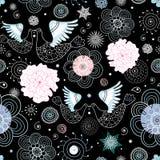 птицы целуя текстуру Стоковое Изображение