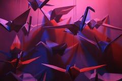 Птицы Origami Стоковые Изображения RF