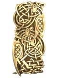 птиц кельтский орнамент Стоковые Фото